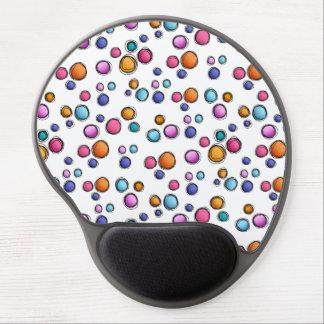 Sketchy Random Dots Gel Mouse Pads