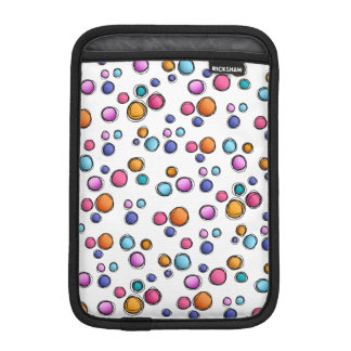 Sketchy Random Dots Sleeve For iPad Mini