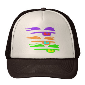 Sketchy, RGB and Rude Trucker Hat