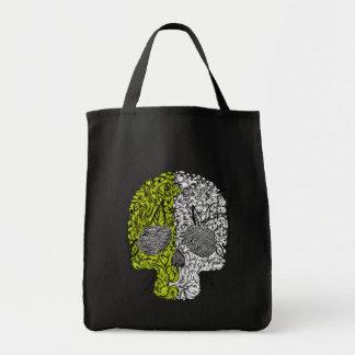 Sketchy Scull Tote Bag