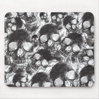 Sketchy Skulls artwork. Mouse Pad