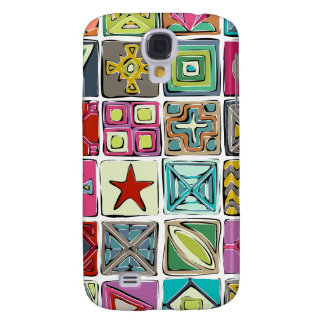 sketchy squares galaxy s4 cover