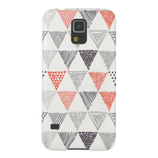 Sketchy Triangles Pattern #2 Case For Galaxy S5