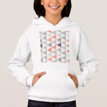 Sketchy Triangles Pattern #2 Hoodie