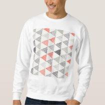 Sketchy Triangles Pattern #2 Sweatshirt