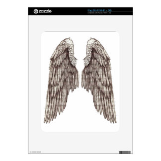 sketchy wings decals for the iPad