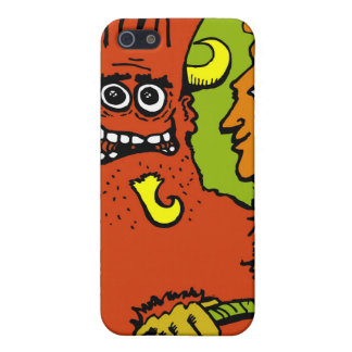 SketchyMonsters_big, MaybeProbablyLogo_alone Cover For iPhone SE/5/5s
