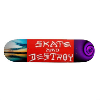 Skete and destroy/ heaven and hell skateboard