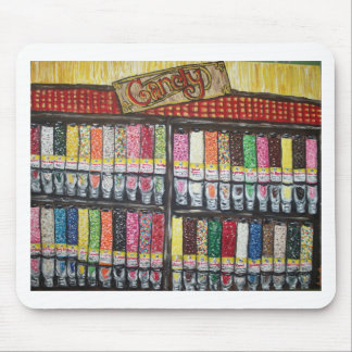 """""""Skewed Candy Store"""" Mouse Pad"""