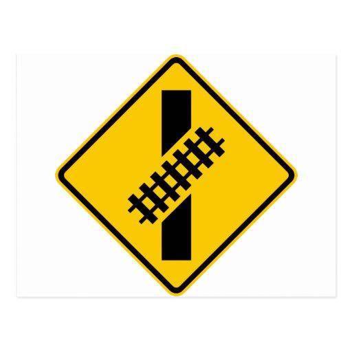 Skewed Rail Cro...