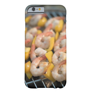 Skewer with grilled shrimps and pepper Sweden. Barely There iPhone 6 Case
