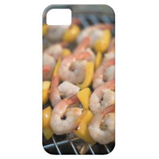 Skewer with grilled shrimps and pepper Sweden. iPhone SE/5/5s Case