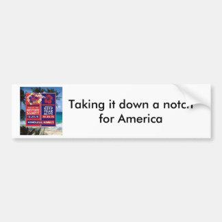 Skewered Lei Bumper Sticker