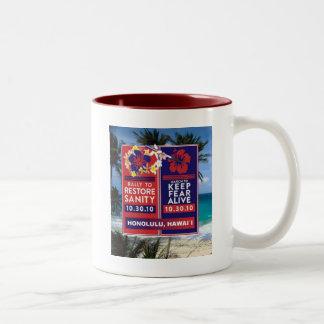 Skewered Lei Two-Tone Coffee Mug