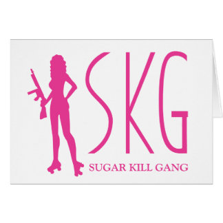 SKG greeting card