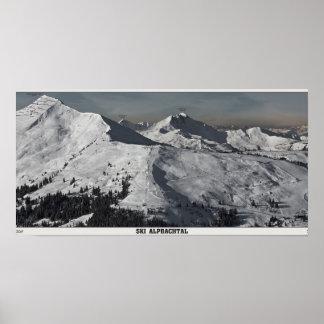 Ski Alpbachtal Print