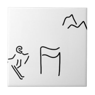ski alpine ski drivers tile