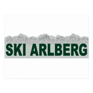 Ski Arlberg Postcard