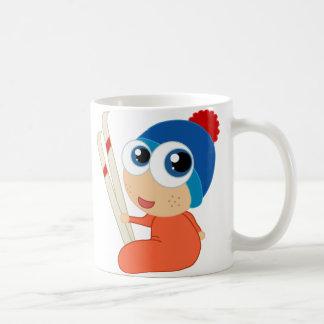 Ski Baby Cartoon Mug