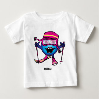 Ski Ball Baby T-Shirt