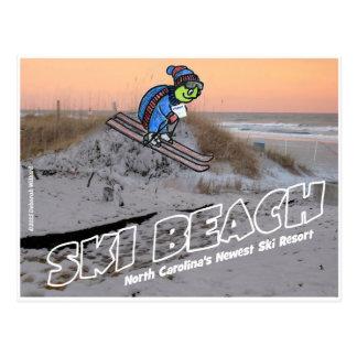 Ski Beach North Carolina.jpg Postcard