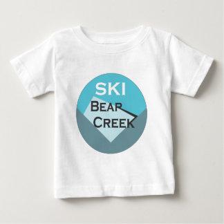 Ski Bear Creek Baby T-Shirt