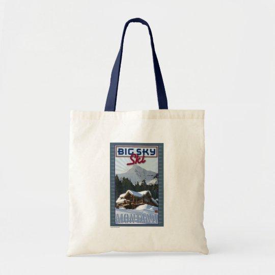 Ski Big Sky-Tote Bag