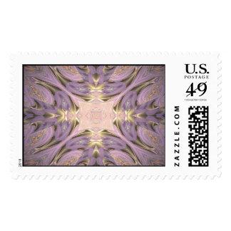 Ski Blind Postage Stamp