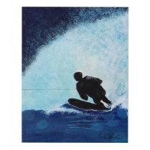 Ski Boarder Fine Art
