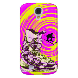 Ski Boot Speck Case Twirl Pink Yellow