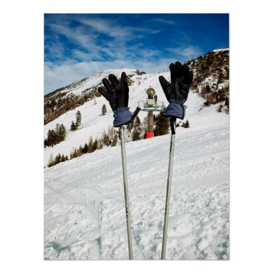 Ski break poster