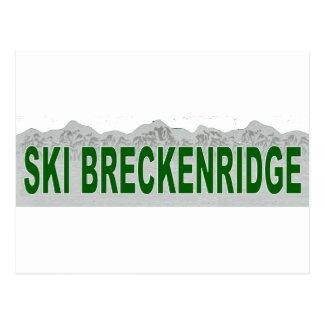 Ski Breckenridge, Colorado Postcard