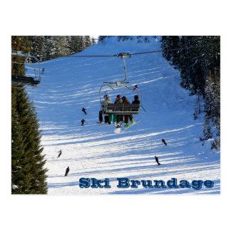 Ski Brundage Postcard
