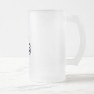 Ski Buddies Frosted Beer Mug