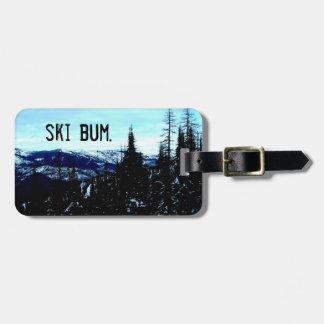 Ski Bum Bag Tag