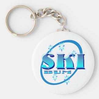Ski Bum Keychain