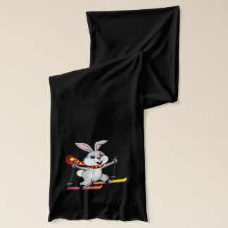 Ski Bunny - Funny and Cute Winter Scarf