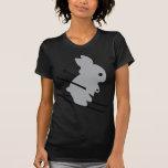 ski bunny icon tee shirt