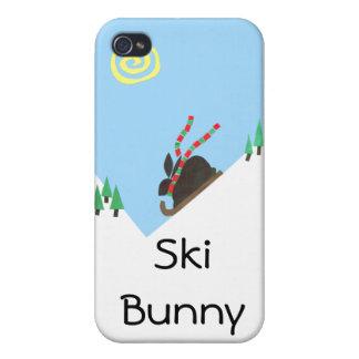 Ski Bunny iPhone 4/4S Cases