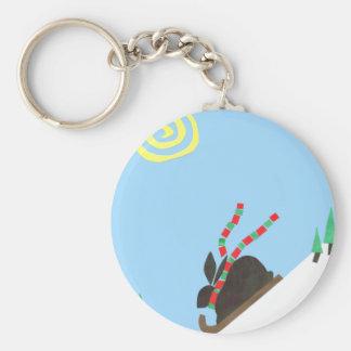 Ski Bunny Keychains
