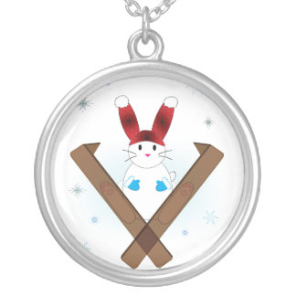 Ski Bunny Necklace