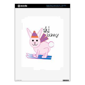 Ski Bunny Skin For iPad 3