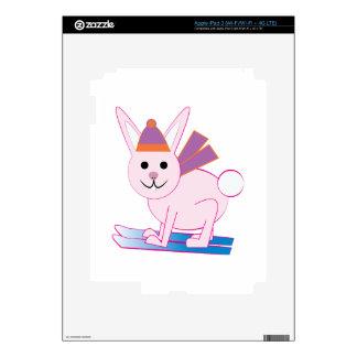 Ski Bunny iPad 3 Skin