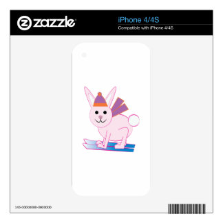Ski Bunny Decals For The iPhone 4