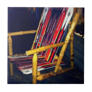 Ski Chair Cool Things to Make with Old Skis Tile