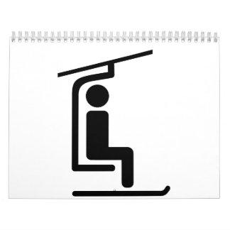 Ski Chairlift Calendars