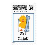 Ski Chick Stamps