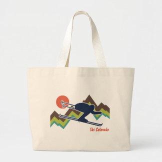 Ski Colorado Canvas Bag