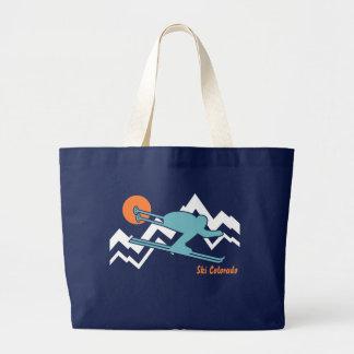 Ski Colorado Canvas Bags