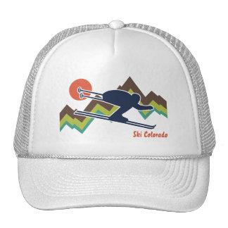 Ski Colorado Trucker Hats